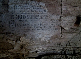 These newspaper scraps reveal that the old assumptions about the build date on the Chris Barr Cabin are actually wrong!
